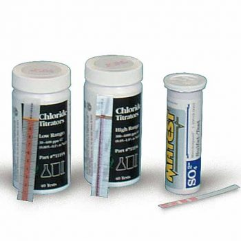 QUANTAB Chloride Strips For Chloride Content